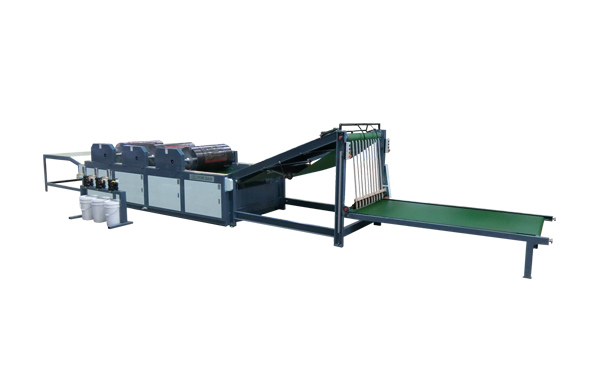 Single 2~6 Color Piece to Piece Printing Machine -Vertical Feeding (Direct Printing)