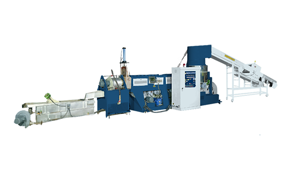 3-in-1 Plastic Recycling and Pelletizing Machine